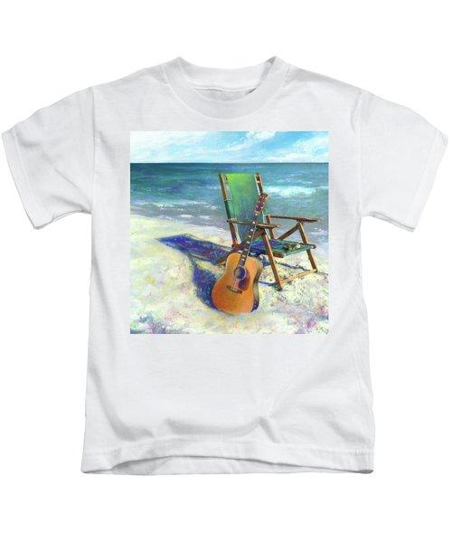 Martin Goes To The Beach Kids T-Shirt