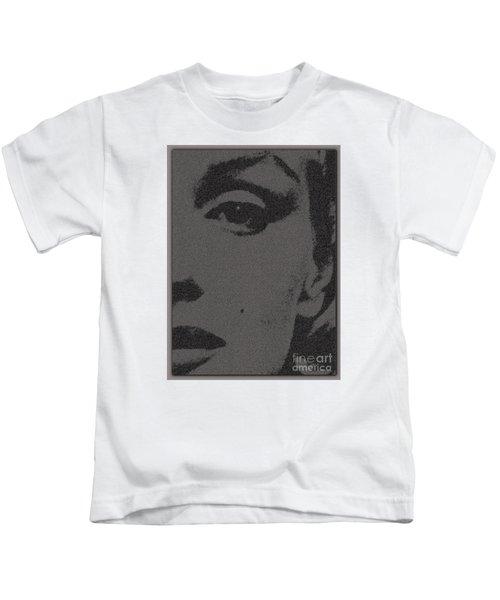 Marylin Screenprint Visualization Kids T-Shirt