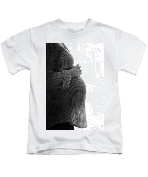 Maternity Silhouette Kids T-Shirt
