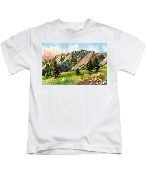 Meadow At Chautauqua Kids T-Shirt