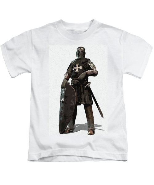 Medieval Warrior - 06 Kids T-Shirt