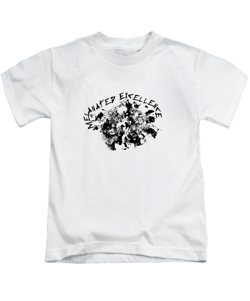 Melanated Excellence IIi Kids T-Shirt