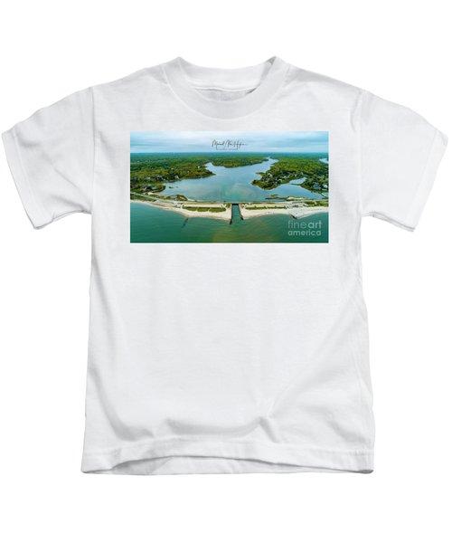 Menauhant Beach Kids T-Shirt