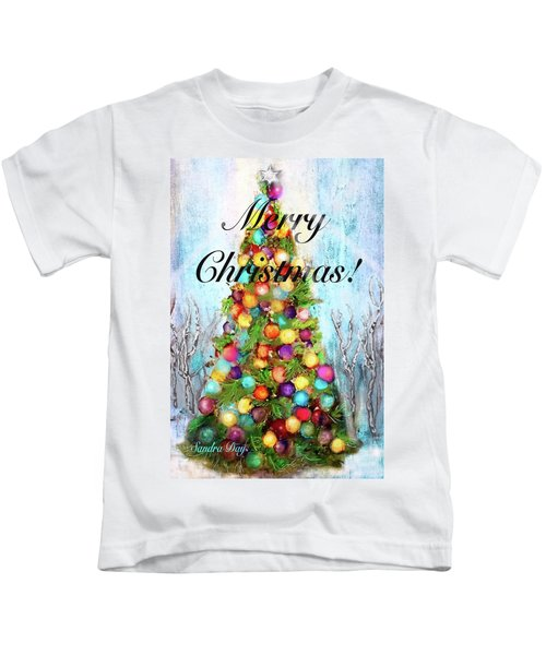 Merry And Bright Kids T-Shirt
