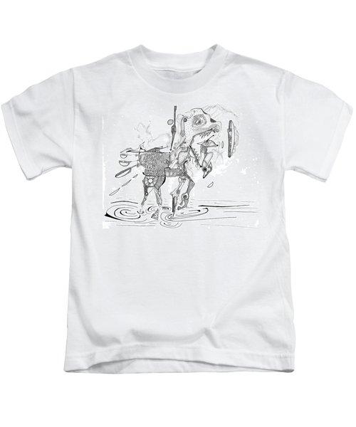 Merry-go-round Horse Kids T-Shirt