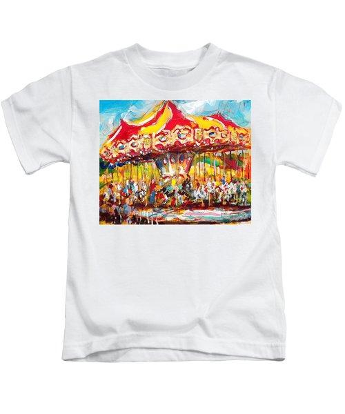 Merry-go-round Kids T-Shirt