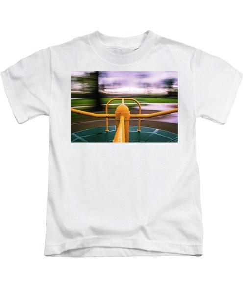 Merry Go Round Kids T-Shirt