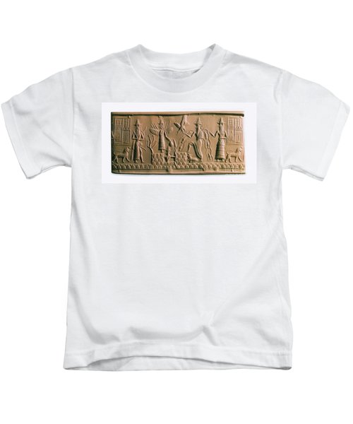 Mesopotamian Gods Kids T-Shirt