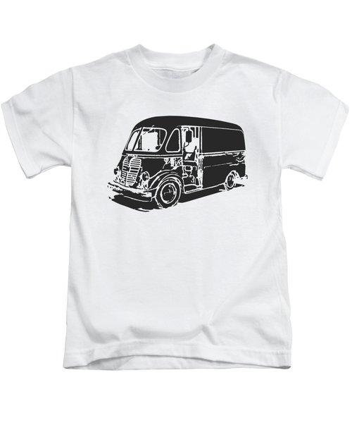 Metro Step Van Tee Kids T-Shirt