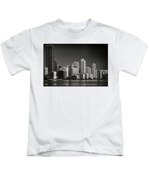 Miami Skyline 2744 Kids T-Shirt