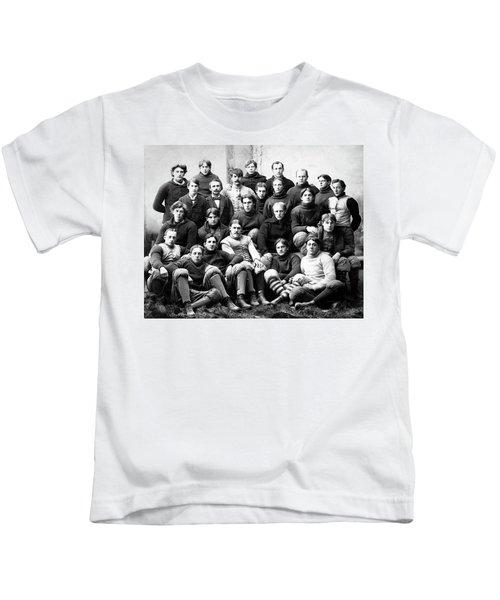 Michigan Wolverines Football Heritage  1895 Kids T-Shirt