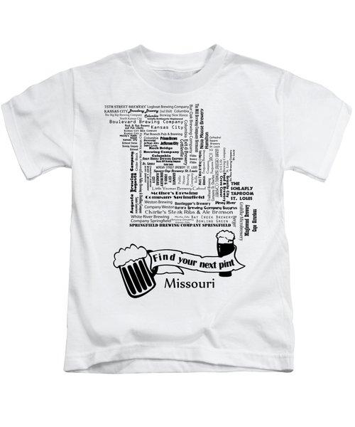 Micro Brew Missouri Kids T-Shirt