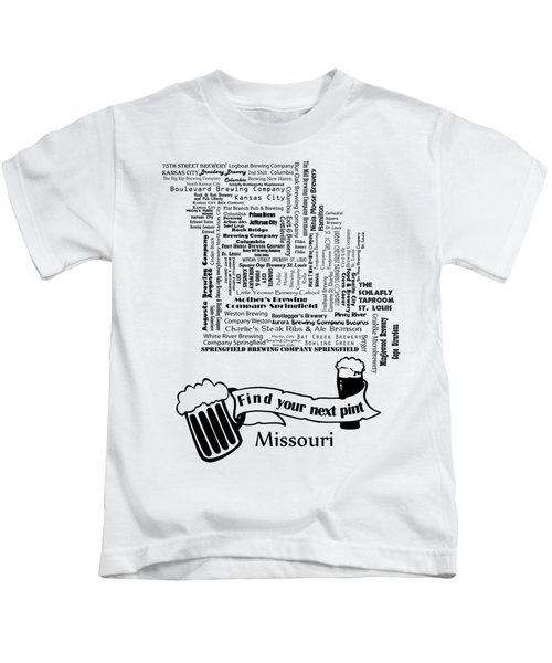 Micro Brew Missouri Kids T-Shirt