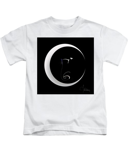 Moonlight Rendezvous 2 Kids T-Shirt
