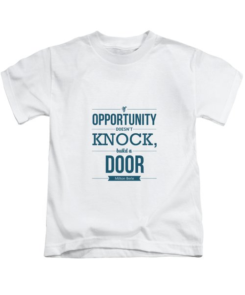 Milton Berle Typography Poster Kids T-Shirt