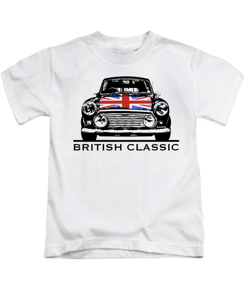Mini British Classic Kids T-Shirt