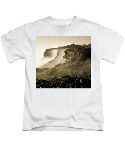 Mist In Lesotho Kids T-Shirt