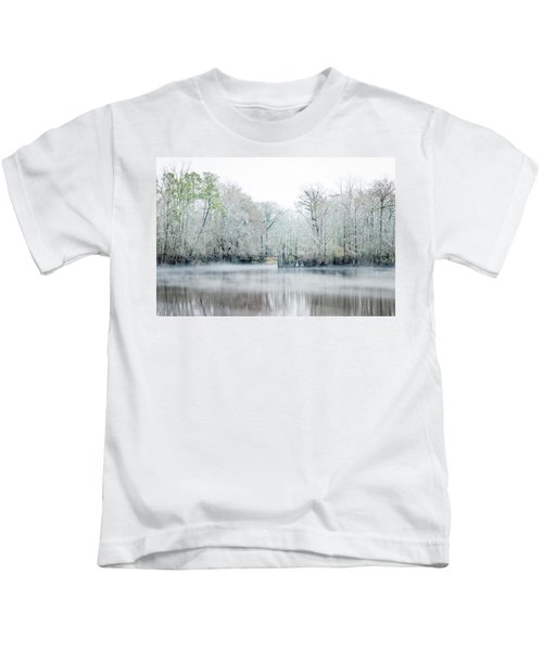 Mist On The River Kids T-Shirt