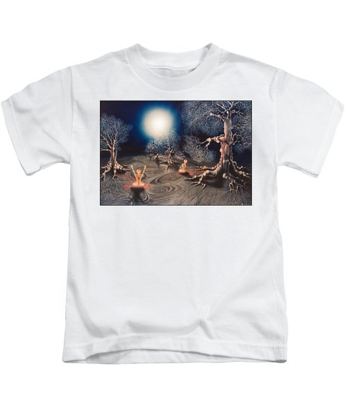 Mistery Of Cosmic Obsession Kids T-Shirt