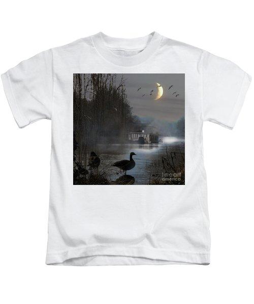 Misty Moonlight Kids T-Shirt