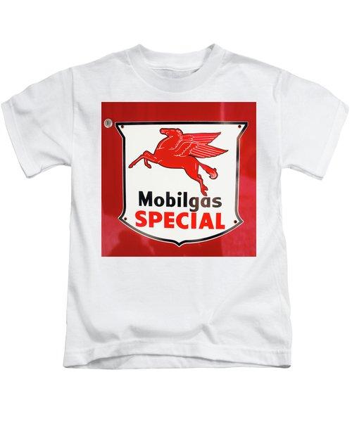 Mobilgas Vintage 82716 Kids T-Shirt
