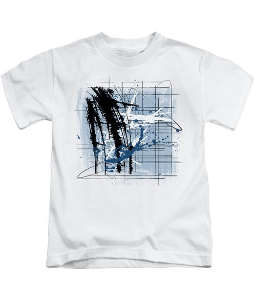 Modern Blue Kids T-Shirt