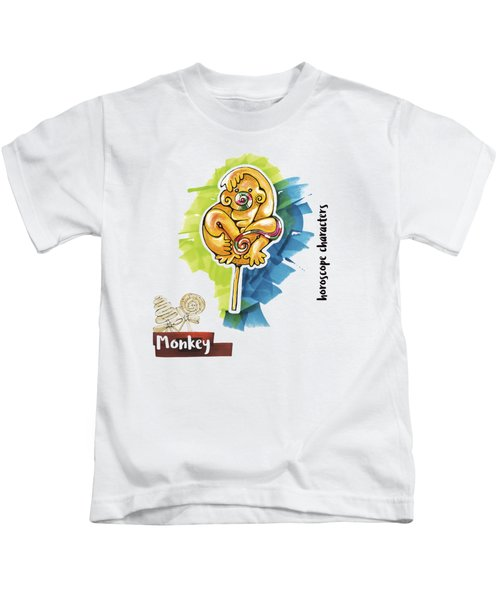 Monkey Horoscope Kids T-Shirt