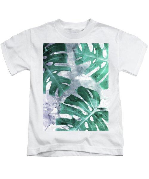 Monstera Theme 1 Kids T-Shirt