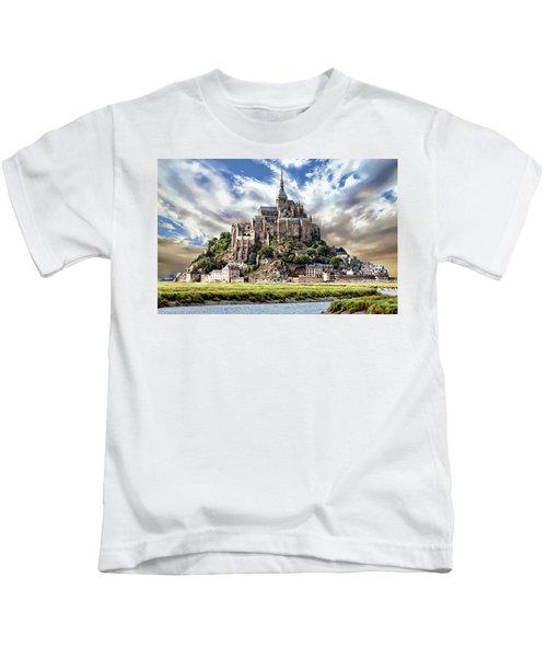 Mont Saint-michel Kids T-Shirt