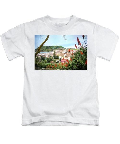 Monte Brasil And Angra Do Heroismo, Terceira Kids T-Shirt