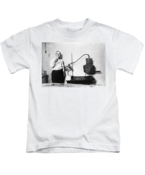 Moonshine Distillery, 1920s Kids T-Shirt