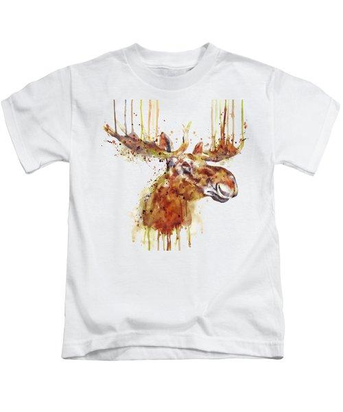 Moose Head Kids T-Shirt