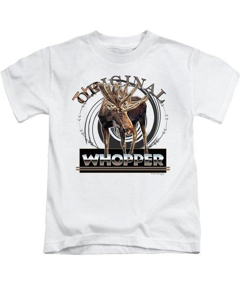 Moose Whooper Kids T-Shirt