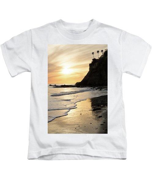 More Mesa Sunset West Kids T-Shirt