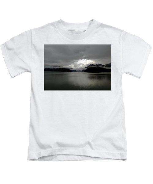 Morning In Alaska Kids T-Shirt