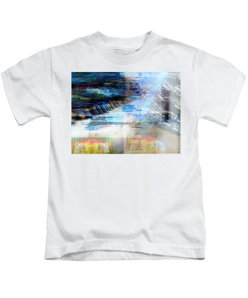 Motivational Piano Kids T-Shirt