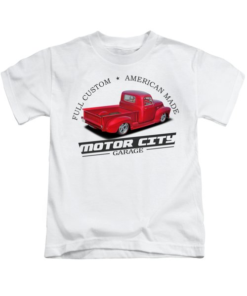 Motor City Pickups Kids T-Shirt