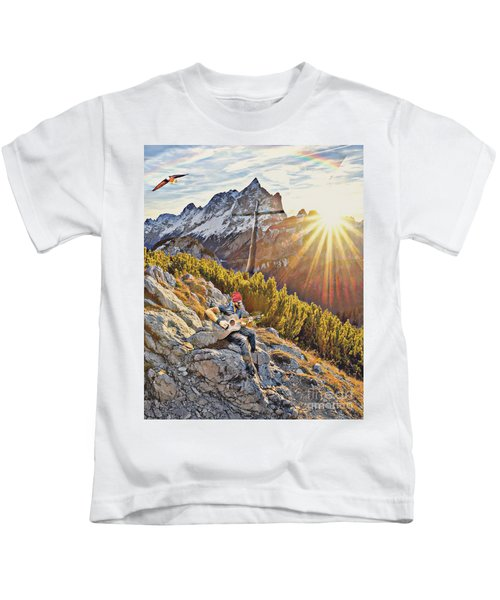 Mountain Of The Lord Kids T-Shirt