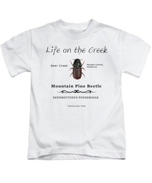 Mountain Pine Beetle Color Kids T-Shirt