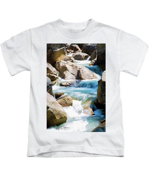 Mountain Spring Water Kids T-Shirt