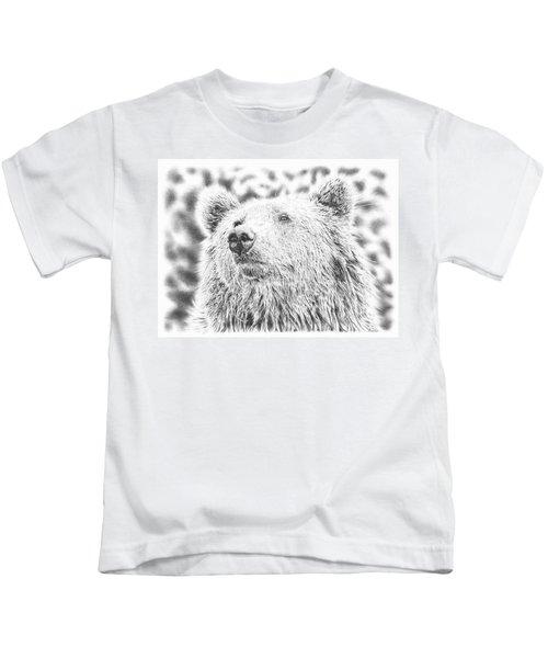 Mr. Bear Kids T-Shirt