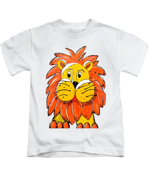 Mr. Lion Kids T-Shirt by Tami Dalton