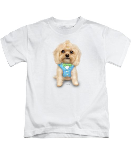 Mr.toby Waffles Kids T-Shirt