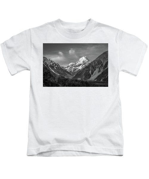 Mt Cook Wilderness Kids T-Shirt
