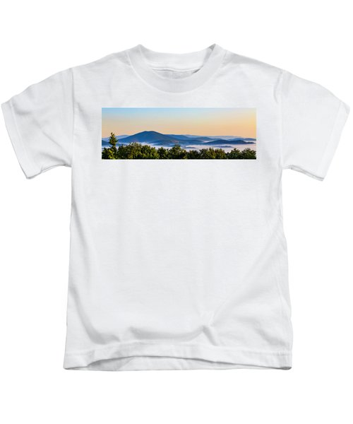 Mt. Jefferson Cloud Lake Kids T-Shirt