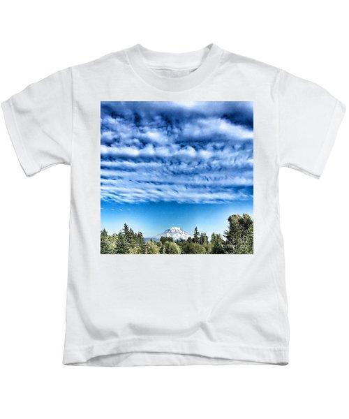Mt Rainier Kids T-Shirt