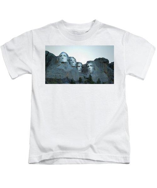 Mt Rushmore Kids T-Shirt