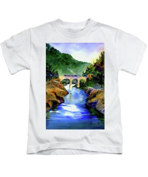 Mtn Quarries Rr Bridge Kids T-Shirt