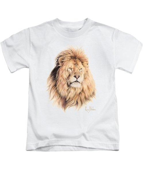Mufasa Kids T-Shirt by Lucie Bilodeau