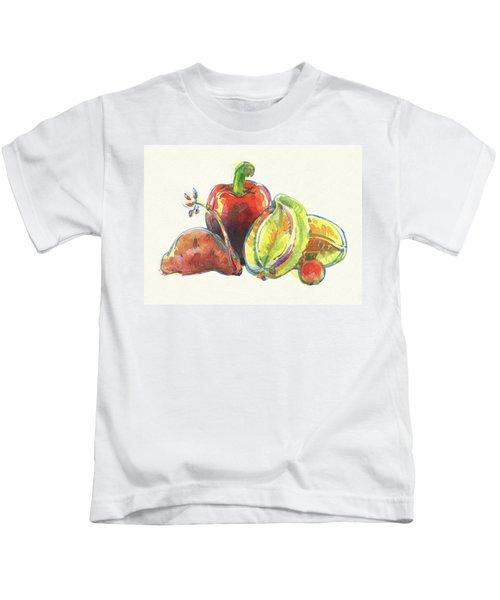 Multi-cultural Friends Kids T-Shirt
